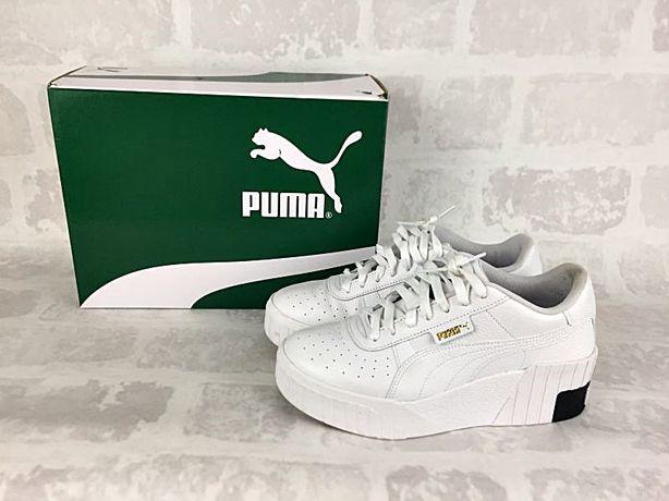 Puma Cali Wedge sneakersy białe 39