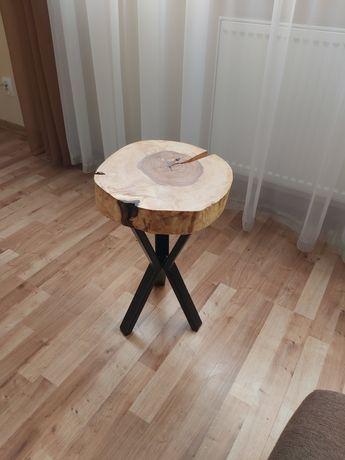 Stolik pod doniczke nogi loft metalowe