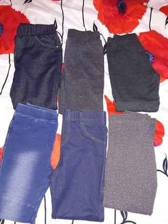 Spodnie dziewczynka 110/116