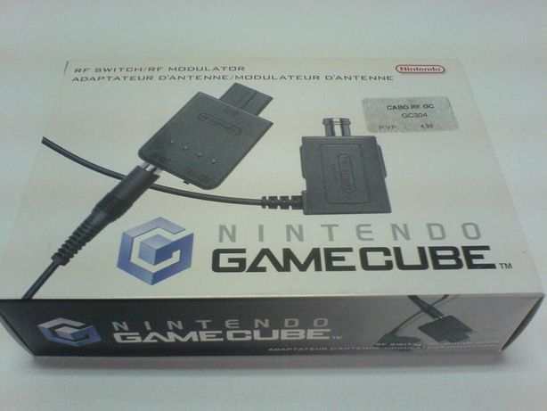 Cabo RF Switch / RF Modulator - Nintendo Gamecube - Novo