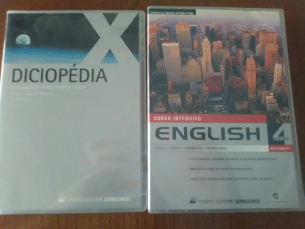 Diciclopedia e curso de inglês intensivo
