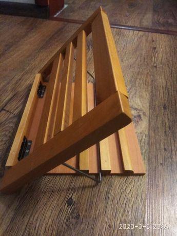 Подставка деревянная под книга/тетрадь /ноты