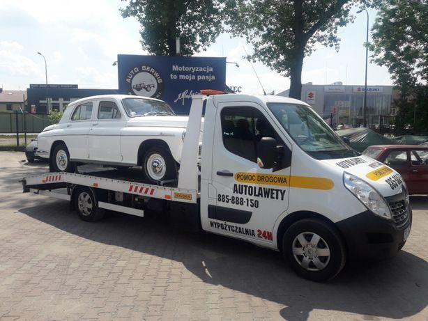 Wynajem - Autolaweta Laweta Najazd Pomoc Drogowa - Bez Limitu