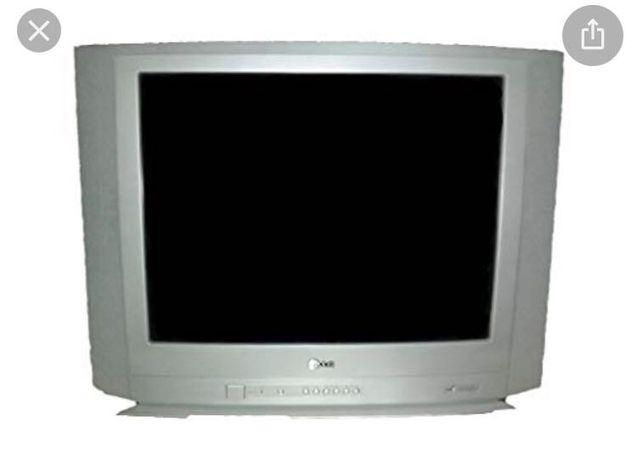 """Televisão LG 21"""" a funcionar"""