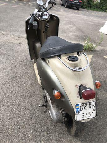Мопед Yamaha Vino 2T на регестрации