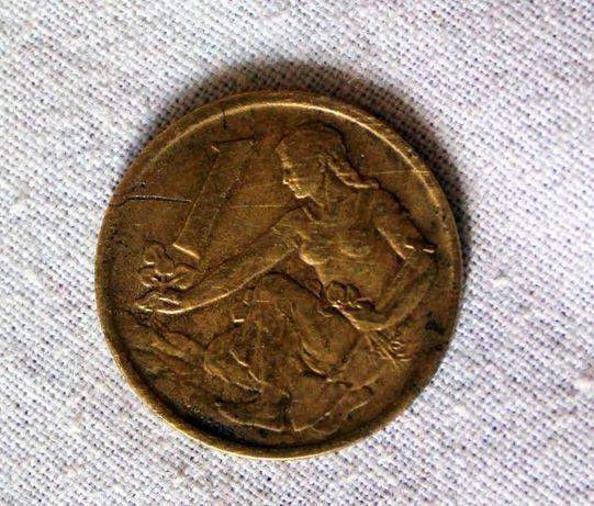 Коллекция монет по 1, 2, 3, 5, 10, 15, 20коп, чехослов крона