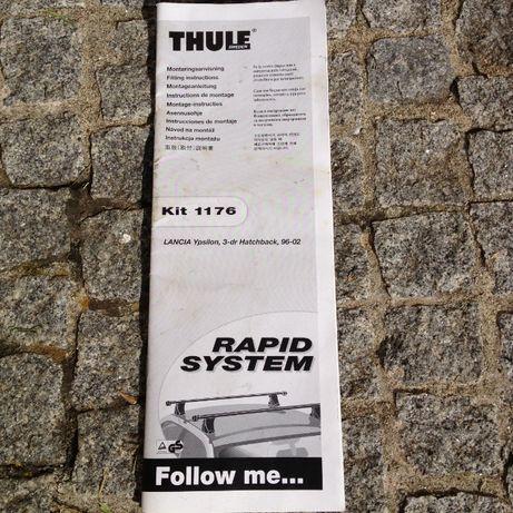 Kit completo de barras de tejadilho Thule 1176