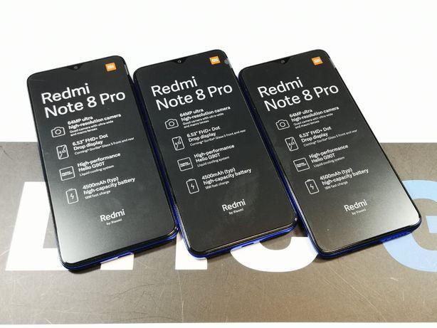 Sklep nowy telefon Xiaomi Redmi Note 8 Pro 6gb 128gb Blue