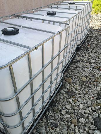 Pojemnik 1000l zbiornik mauzer czyste Spożywcze Zapraszam