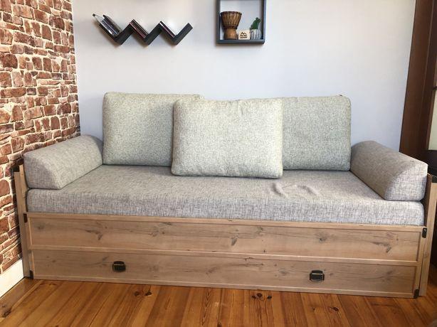 Łóżko 90 x 200 + szafka nocna