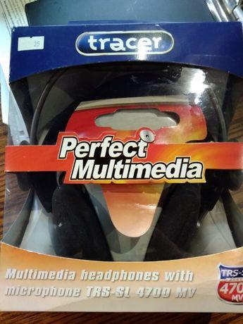Słuchawki z mikrofonem TRACER TRS-SL 4700MV NOWE!!!