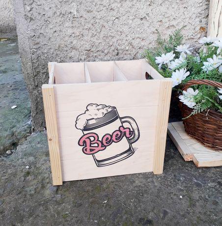 Ящик для пивних пляшок