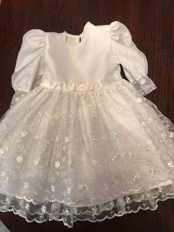 Sukienka na roczek podane wymiary w opisie