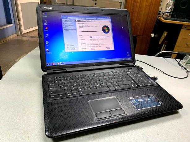 Ноутбук Asus K50C Intel 2х ядерный 1.5GHz, 3 ОЗУ,160 HDD,Video Int