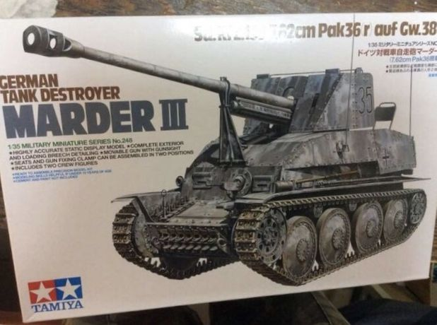 Tamiya SdKfz.139 Dt. JgdPz. Marder III 7,62cm Pak 1:35