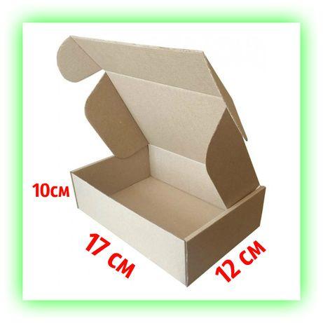 Картонная коробка Новой почты самосборная 170х120х100 подарочная