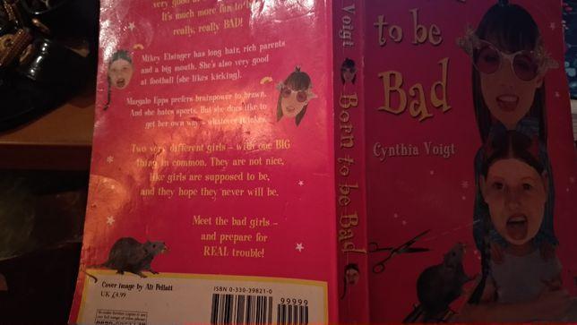 книга на английском языке BORN TO BE bad CYNTHIA VOIGTдля подростков