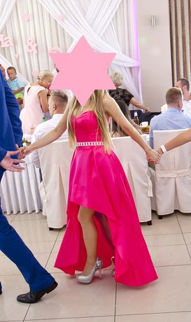 Suknia ślubna, suknia wieczorowa, studniówka +GRATIS muszka, poszetka