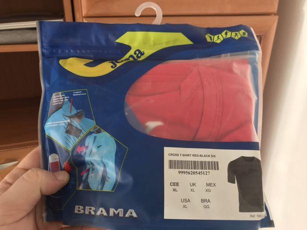 Koszulka termiczna JOMA czerwona rozmiar XL