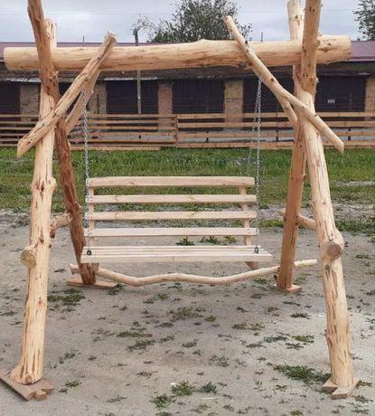 Виготовляємо дерев'яні гойдалки