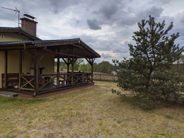 Całoroczny Domek Cytrynka do wynajęcia - 50 metrów od jeziora! (Domki)