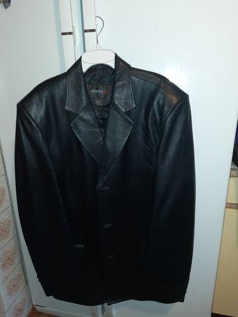 Пиджак кожаный, мужской