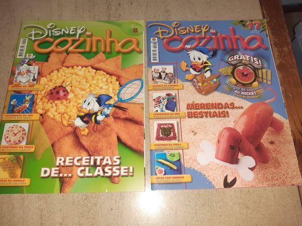 """Revistas infantis """"Cozinha Disney"""""""
