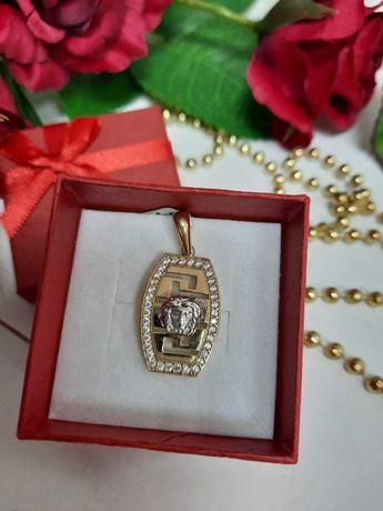 Piękny złoty wisior złoto 585