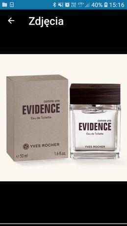 COMME UNE EVIDENCE Yves Rocher 50 ml nowa woda toaletowa męska