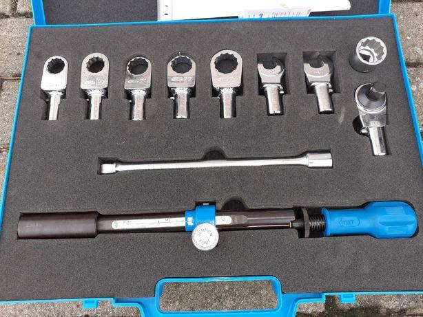 Klucz dynamometryczny Huot 1/2 cala od 20 do 200 Nm Zestaw