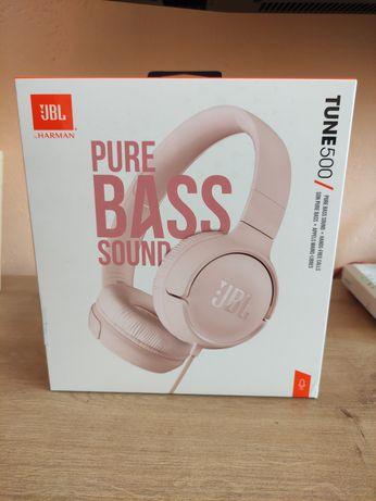 Słuchawki JBL tune 500 różowy