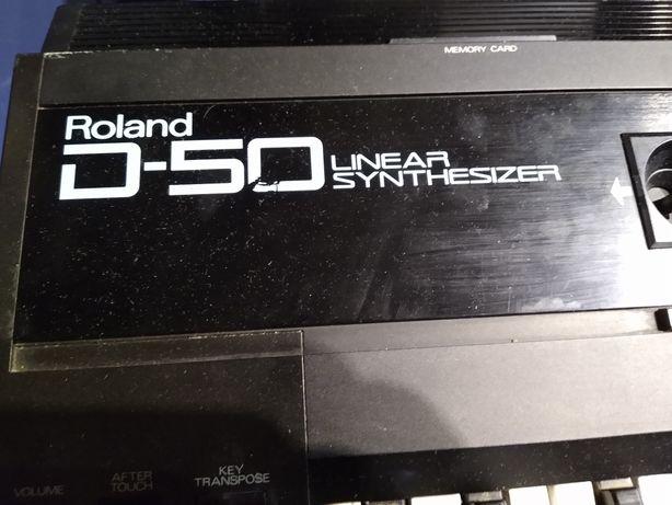 Syntezator Roland D 50