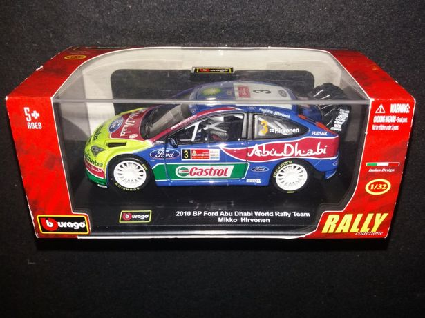 Bburago 1:32 Bp Ford Mikko Hirvonen Abu Dhabi World Race Team samochód