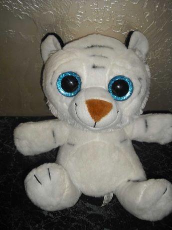 Мягкая игрушка глазастик Aliki Тигр с блестящими глазами