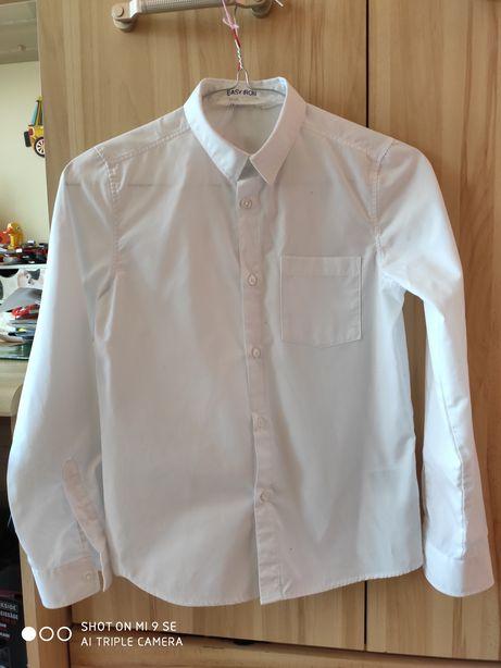 Biała koszula rozm 140 H&M