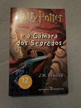 Livro : Harry Potter e a câmara dos segredos de J.K.Rowling