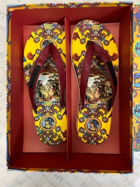 Мужские шлёпанцы Dolce&Gabbana Brunello CUCINELLI Gucci