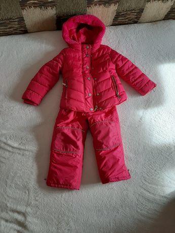 Продам зимовий костюм на дівчинку 98 розміру