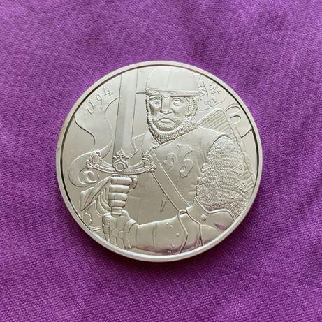 Инвестиционная серебряная монета Австрия 1,5 Евро 2019 года Леопольд V