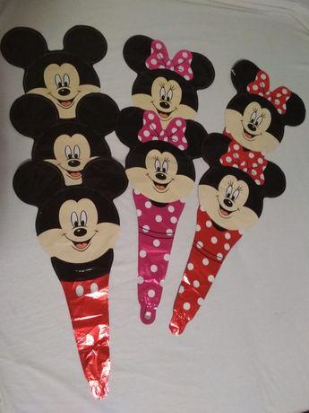 Balony Myszka Miki Mini 7 sztuk wyprzedaż