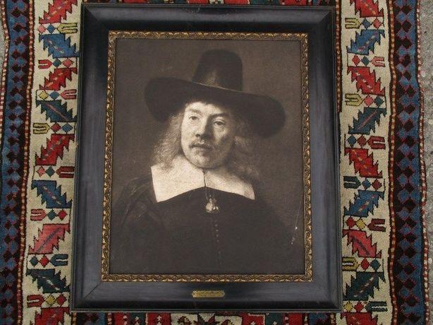 portret Rembrandt fotograwiura
