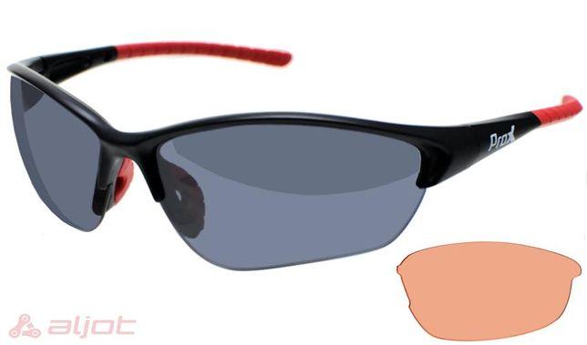 Okulary sportowe PROX RAY BIKE 31 wymienne szkła nowe