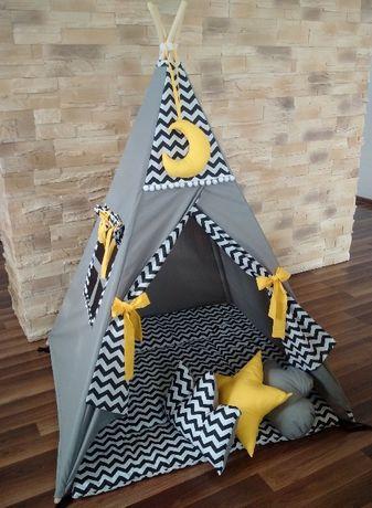 TIPI 50+ wzorów, namioty, wigwamy zestawy handmade - na zam.