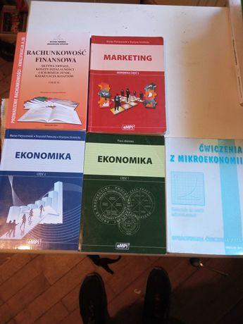 Książki do ekonomi i rachunkowości