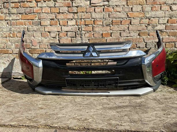 Бампер Передний в Сборе Mitsubishi Outlander 3 2013-2020 ЗАПЧАСТИ