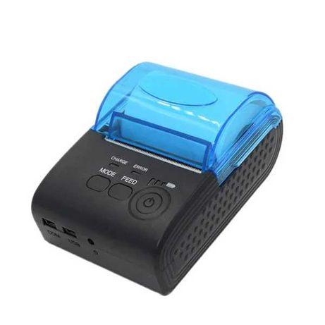Мобильный термопринтер чековый POS-принтер Mini ZJ-5805 58мм Bluetooth