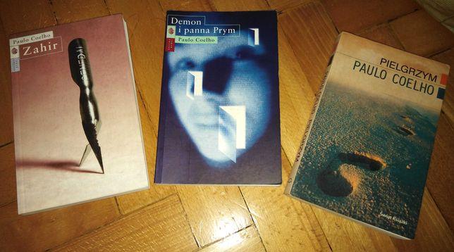 Książka Paulo Coelho Pielgrzym Zahir Demon i panna Prym