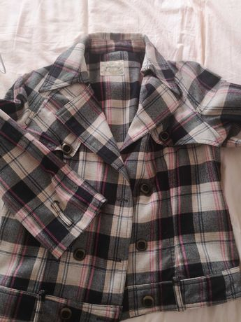 Jaqueta plaid M