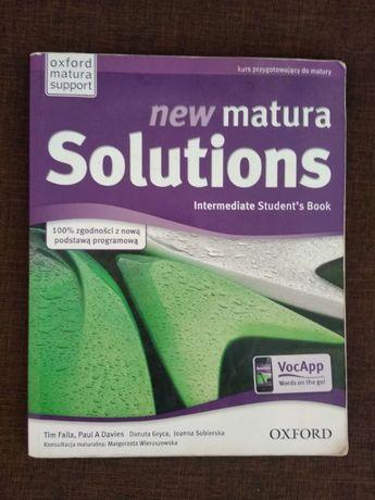 New Matura Solutions (4 książki) Repetytorium Maturalne + Ćwiczenia