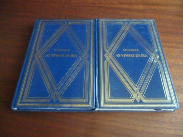 """""""As Vinhas da Ira"""" - 2 Volumes de John Steinbeck"""